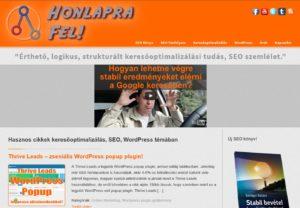 Honlapra Fel! screenshot